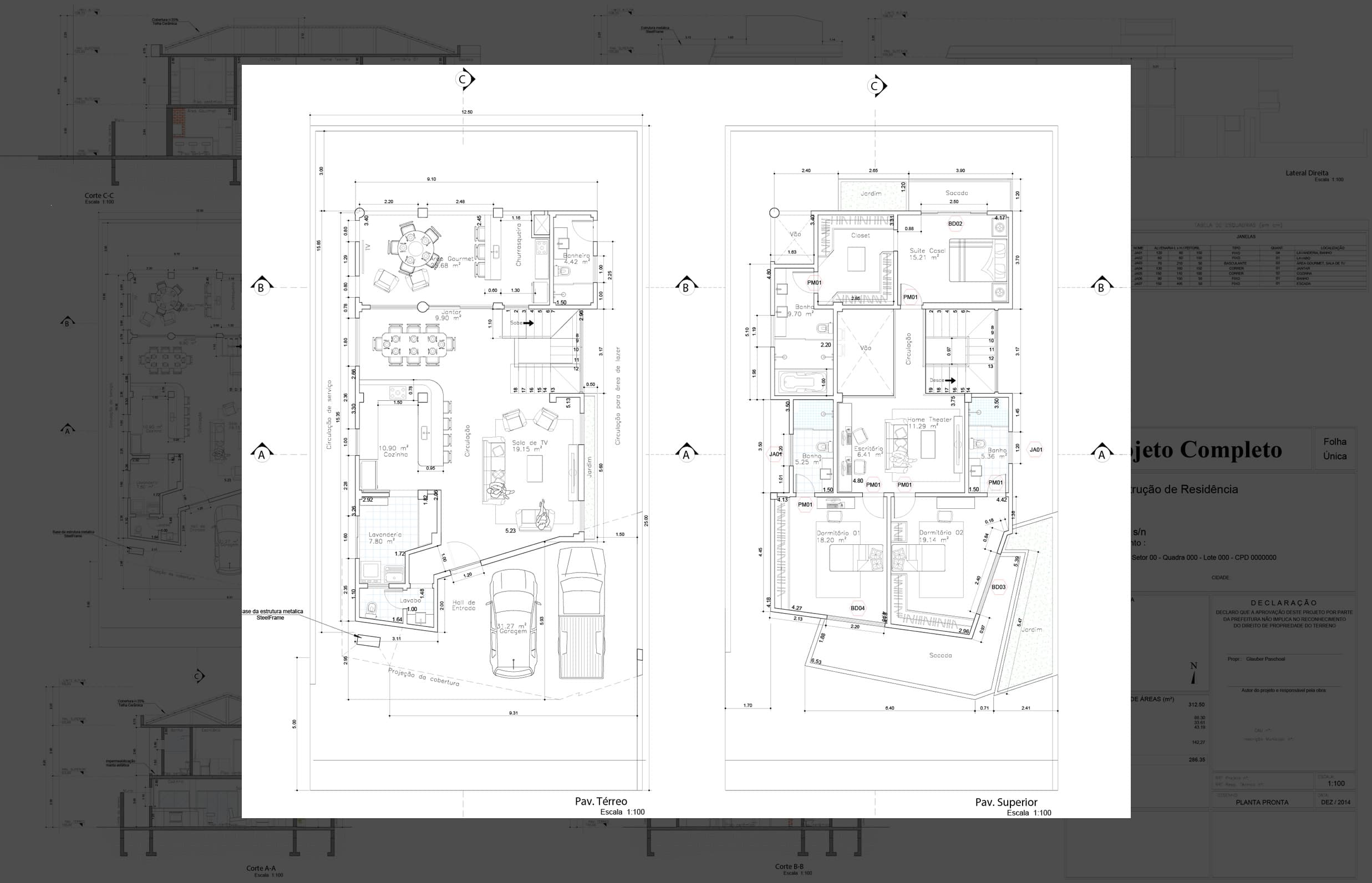 House Plan With 3 Bedrooms And Closet Plans Of Houses Models And